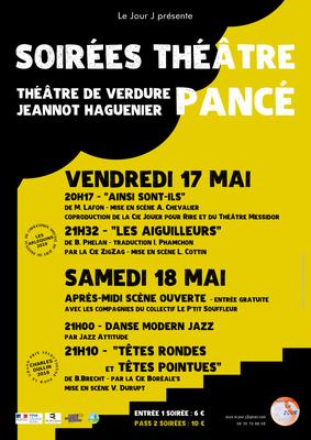 affiche soirées théâtre le jour j A3 V6YH 400x400
